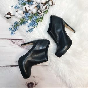 Sam Edelman Keaton Hidden Platform Leather Bootie